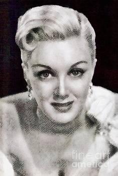 John Springfield - Jan Sterling, Vintage Actress