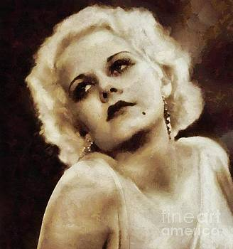 Mary Bassett - Jean Harlow Vintage Hollywood Actress