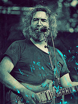 Jerry Garcia by Afterdarkness