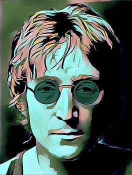 John Lennon Portrait by Gary Grayson