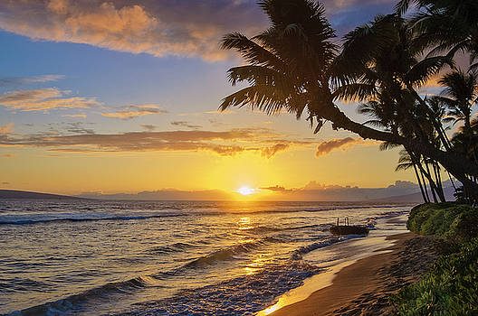 Kaanapali Beach Sunset by Greg Vaughn