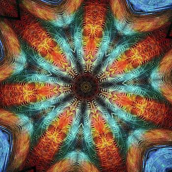 #kaleidoscope #mandala #art #digitalart by Michal Dunaj