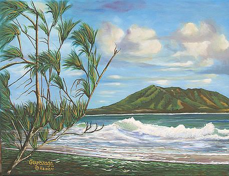 Kaneohe Bay by Larry Geyrozaga