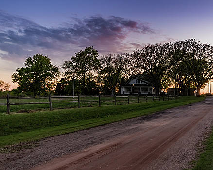 Kansas Sunset by Jay Stockhaus