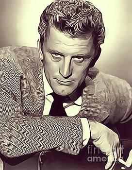 John Springfield - Kirk Douglas, Vintage Actor