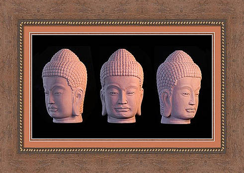 Khmer Greeting Card 1 by Terrell Kaucher