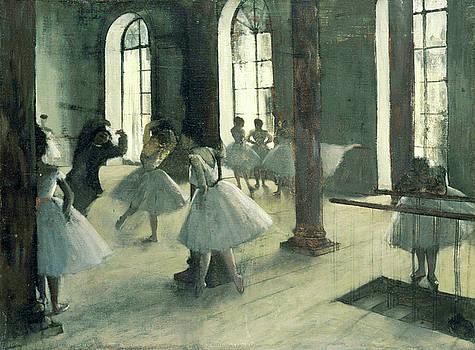 Edgar Degas - La Repetition Au Foyer De La Danse