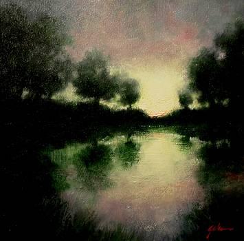 Lagoon at Sunset by Jim Gola