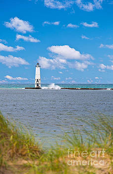 Lake Michigan Lighthouse by ELITE IMAGE photography By Chad McDermott