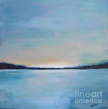Lake Sunset by Vesna Antic