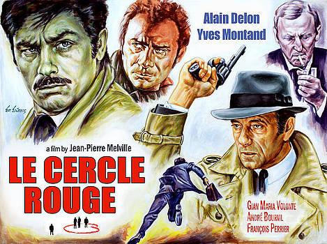 Le Cercle Rouge 1970 by Spiros Soutsos