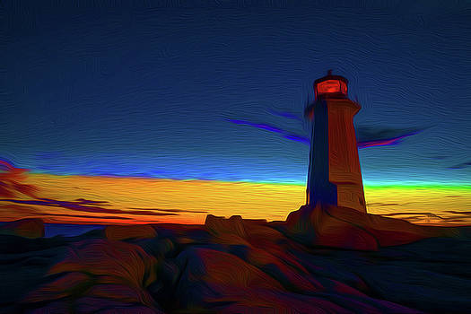 Lighthouse by Andre Faubert