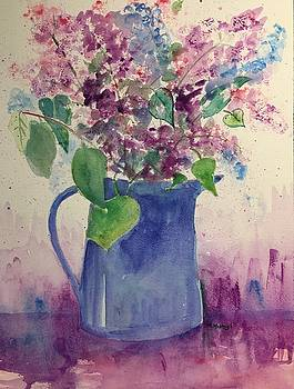 Lilacs by Marita McVeigh