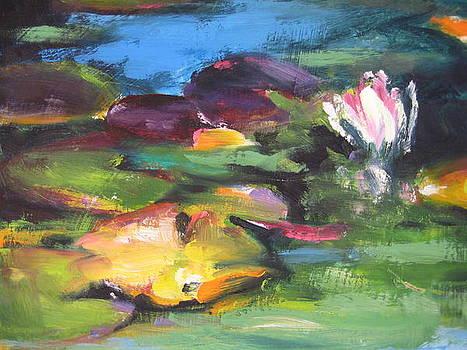 Lily Pond by Susan Jenkins