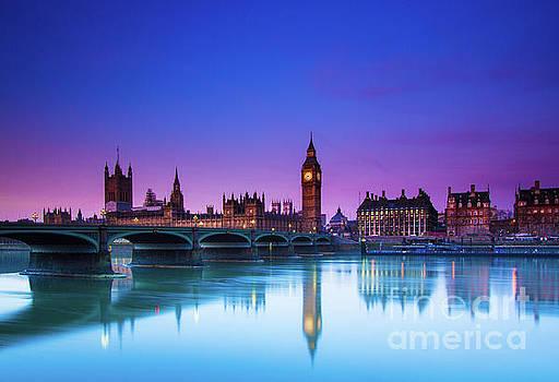 London Big Ben  by Mariusz Czajkowski