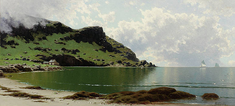 Low Tide by Alfred Thompson
