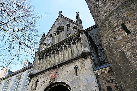 Maastricht Church by Sandra Bourret