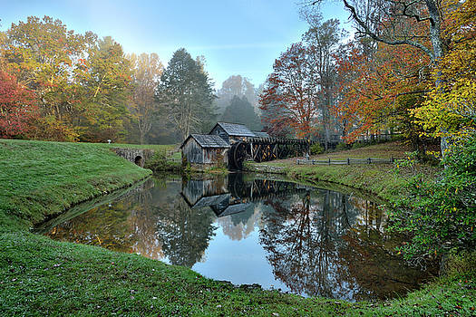 Mabry Mill by Jeff Burcher