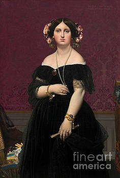 Madame Moitessier by Jean Auguste Dominique Ingres