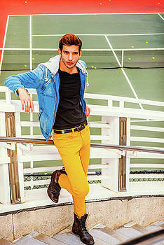 Alexander Image - Man Casual Fashion in New York