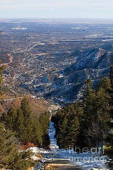 Steve Krull - Manitou Incline in Winter