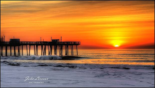 Margate sunrise by John Loreaux