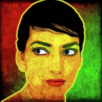 Maria Callas by Gary Grayson