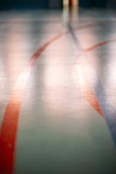 Eduardo Huelin - Mark basketball court handball or footbal Texture background.