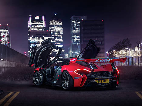 McLaren P1 GTR in London by George Williams