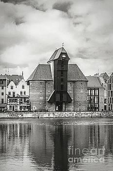 Mariusz Talarek - Medieval Crane, Gdansk BW