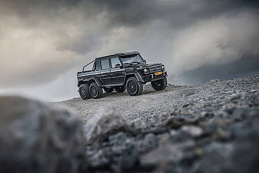 Mercedes G63 6x6 in Oman by George Williams