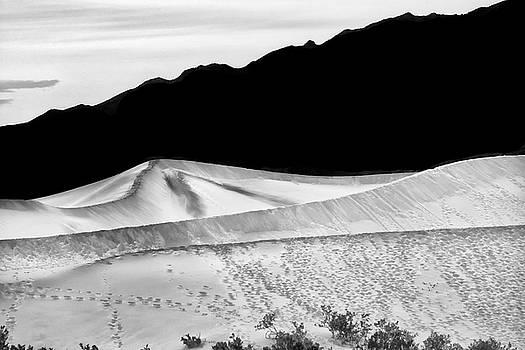 Mesquite Flat Sand Dunes by Gej Jones