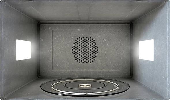 Microwave Interior by Allan Swart