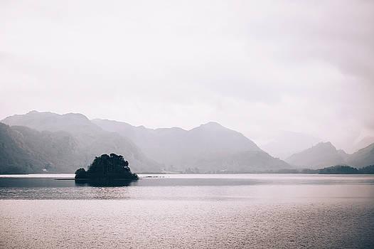 Misty Lake by David Ridley