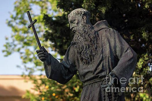 Monument To Fray Pablo De Cadiz Alameda Apodaca Cadiz Spain by Pablo Avanzini