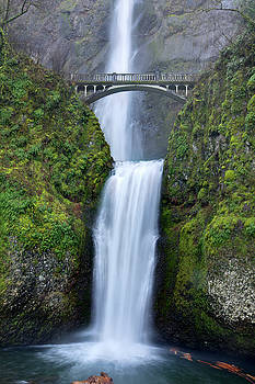 Multnomah Falls Waterfall Oregon Columbia River Gorge by Dustin K Ryan