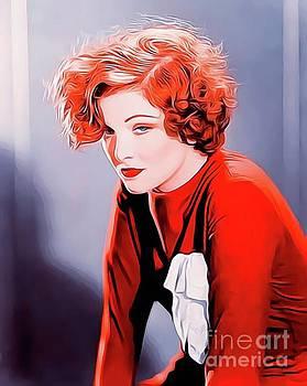 John Springfield - Myrna Loy, Vintage Actress
