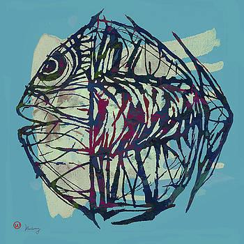 New Pop Art Tropical - Fish Poster by Kim Wang