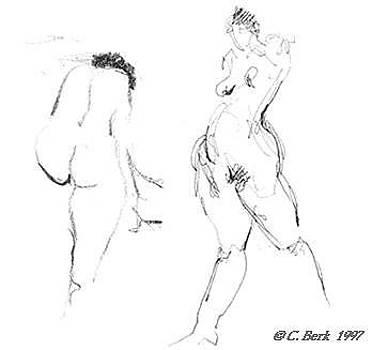 2 Nudes by Chuck Berk