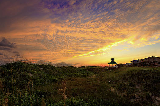 Oak Island Sunset by Nick Noble