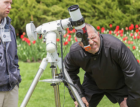 Observing the Mercury Transit by Josef Pittner
