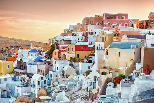 Oia, Santorini - Greece by Stavros Argyropoulos