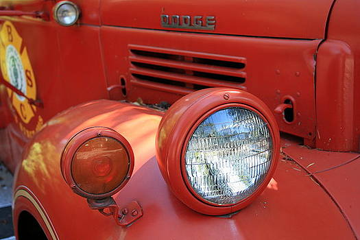 Old Dodge Fire Truck by Larry Whiting