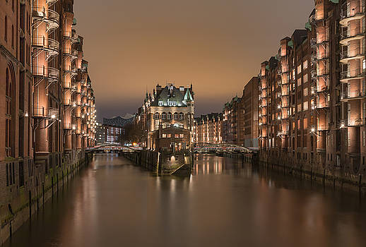 old Hamburg by Silke Tuexen