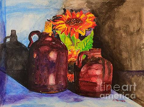 2 old Jugs 1.. by Melvin Turner