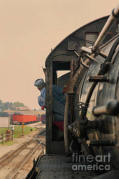 Patricia Hofmeester - Old steam locomotive in Pennsylvania