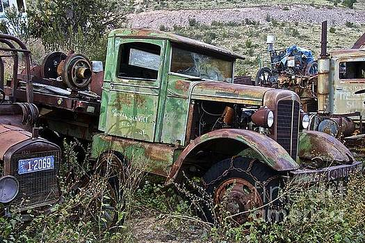Old Truck by Anthony Jones
