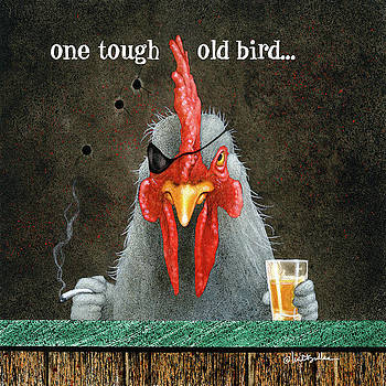 Will Bullas - one tough old bird...