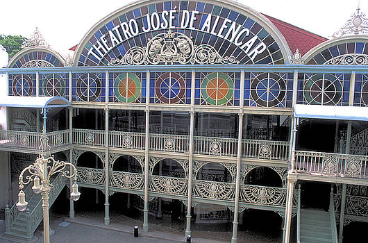 Opera House at Forteleza in Brazil by Carl Purcell