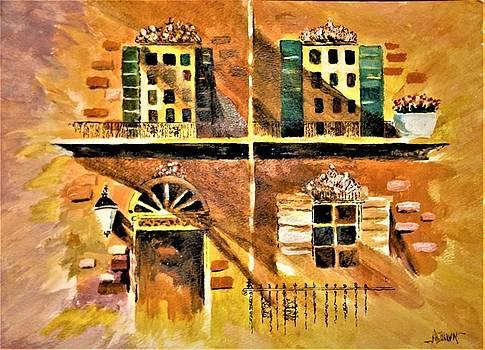 Orleans Vignette by Al Brown